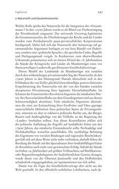 Bild der Seite - 447 - in Aufklärung habsburgisch - Staatsbildung, Wissenskultur und Geschichtspolitik in Zentraleuropa 1750–1850