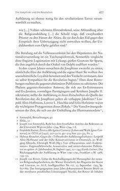 Bild der Seite - 457 - in Aufklärung habsburgisch - Staatsbildung, Wissenskultur und Geschichtspolitik in Zentraleuropa 1750–1850
