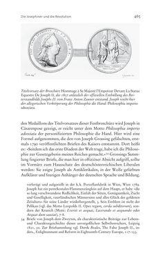 Bild der Seite - 465 - in Aufklärung habsburgisch - Staatsbildung, Wissenskultur und Geschichtspolitik in Zentraleuropa 1750–1850