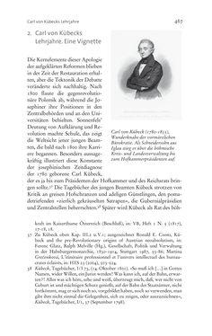 Bild der Seite - 467 - in Aufklärung habsburgisch - Staatsbildung, Wissenskultur und Geschichtspolitik in Zentraleuropa 1750–1850