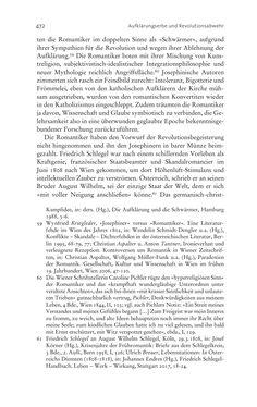 Bild der Seite - 472 - in Aufklärung habsburgisch - Staatsbildung, Wissenskultur und Geschichtspolitik in Zentraleuropa 1750–1850