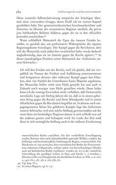 Bild der Seite - 484 - in Aufklärung habsburgisch - Staatsbildung, Wissenskultur und Geschichtspolitik in Zentraleuropa 1750–1850