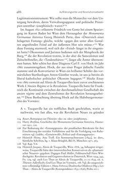 Bild der Seite - 486 - in Aufklärung habsburgisch - Staatsbildung, Wissenskultur und Geschichtspolitik in Zentraleuropa 1750–1850