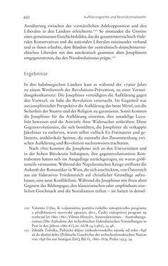 Image of the Page - 492 - in Aufklärung habsburgisch - Staatsbildung, Wissenskultur und Geschichtspolitik in Zentraleuropa 1750–1850