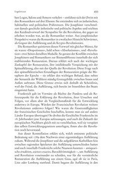 Bild der Seite - 493 - in Aufklärung habsburgisch - Staatsbildung, Wissenskultur und Geschichtspolitik in Zentraleuropa 1750–1850