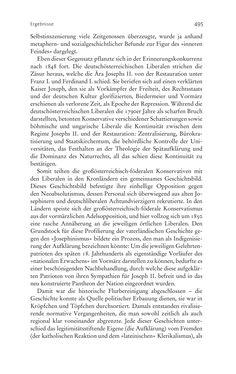 Bild der Seite - 495 - in Aufklärung habsburgisch - Staatsbildung, Wissenskultur und Geschichtspolitik in Zentraleuropa 1750–1850