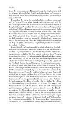 Bild der Seite - 499 - in Aufklärung habsburgisch - Staatsbildung, Wissenskultur und Geschichtspolitik in Zentraleuropa 1750–1850