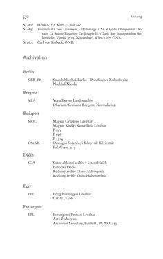 Image of the Page - 530 - in Aufklärung habsburgisch - Staatsbildung, Wissenskultur und Geschichtspolitik in Zentraleuropa 1750–1850