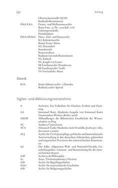 Image of the Page - 532 - in Aufklärung habsburgisch - Staatsbildung, Wissenskultur und Geschichtspolitik in Zentraleuropa 1750–1850