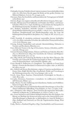 Bild der Seite - 568 - in Aufklärung habsburgisch - Staatsbildung, Wissenskultur und Geschichtspolitik in Zentraleuropa 1750–1850