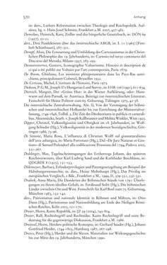 Bild der Seite - 570 - in Aufklärung habsburgisch - Staatsbildung, Wissenskultur und Geschichtspolitik in Zentraleuropa 1750–1850