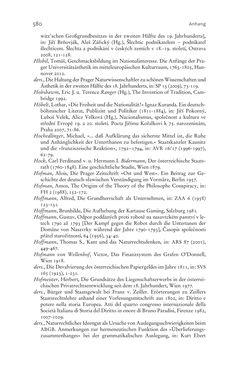 Bild der Seite - 580 - in Aufklärung habsburgisch - Staatsbildung, Wissenskultur und Geschichtspolitik in Zentraleuropa 1750–1850