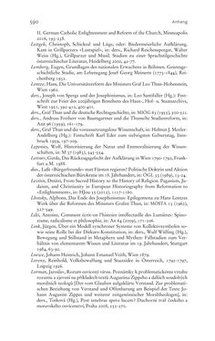 Bild der Seite - 590 - in Aufklärung habsburgisch - Staatsbildung, Wissenskultur und Geschichtspolitik in Zentraleuropa 1750–1850