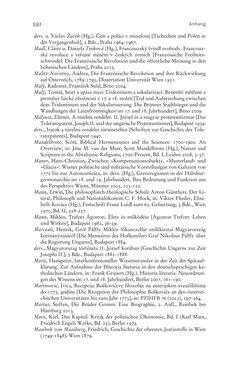 Bild der Seite - 592 - in Aufklärung habsburgisch - Staatsbildung, Wissenskultur und Geschichtspolitik in Zentraleuropa 1750–1850