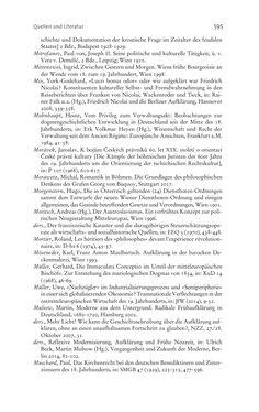 Bild der Seite - 595 - in Aufklärung habsburgisch - Staatsbildung, Wissenskultur und Geschichtspolitik in Zentraleuropa 1750–1850