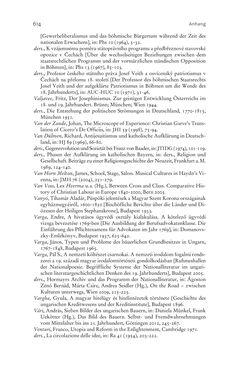 Bild der Seite - 614 - in Aufklärung habsburgisch - Staatsbildung, Wissenskultur und Geschichtspolitik in Zentraleuropa 1750–1850