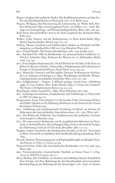 Bild der Seite - 616 - in Aufklärung habsburgisch - Staatsbildung, Wissenskultur und Geschichtspolitik in Zentraleuropa 1750–1850