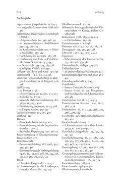 Bild der Seite - 624 - in Aufklärung habsburgisch - Staatsbildung, Wissenskultur und Geschichtspolitik in Zentraleuropa 1750–1850