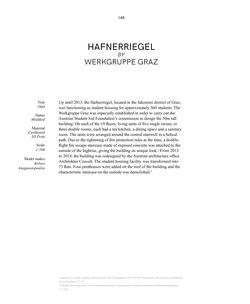 Bild der Seite - 148 - in Demolished Modified Endangered - Modelling Austrian Architecture Of The 20th Century