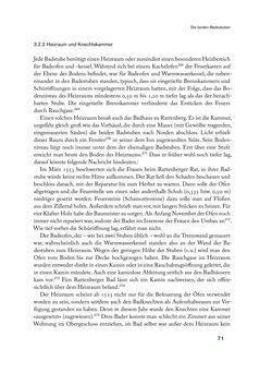 Bild der Seite - 71 - in Im städtischen Bad vor 500 Jahren - Badhaus, Bader und Badegäste im alten Tirol