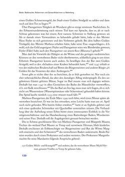 Bild der Seite - 120 - in Im städtischen Bad vor 500 Jahren - Badhaus, Bader und Badegäste im alten Tirol