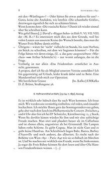 Bild der Seite - 8 - in Arthur Schnitzler & Hermann Bahr - Briefwechsel, Aufzeichnungen, Dokumente 1891–1931