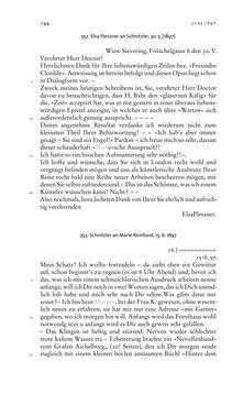 Bild der Seite - 144 - in Arthur Schnitzler & Hermann Bahr - Briefwechsel, Aufzeichnungen, Dokumente 1891–1931