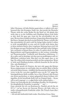 Image of the Page - 222 - in Arthur Schnitzler & Hermann Bahr - Briefwechsel, Aufzeichnungen, Dokumente 1891–1931