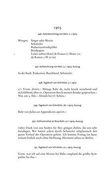Image of the Page - 246 - in Arthur Schnitzler & Hermann Bahr - Briefwechsel, Aufzeichnungen, Dokumente 1891–1931