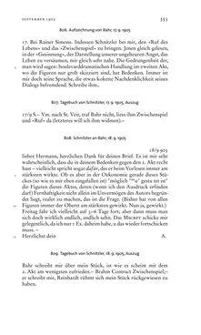 Bild der Seite - 353 - in Arthur Schnitzler & Hermann Bahr - Briefwechsel, Aufzeichnungen, Dokumente 1891–1931