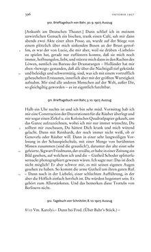 Bild der Seite - 396 - in Arthur Schnitzler & Hermann Bahr - Briefwechsel, Aufzeichnungen, Dokumente 1891–1931