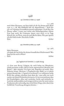 Image of the Page - 401 - in Arthur Schnitzler & Hermann Bahr - Briefwechsel, Aufzeichnungen, Dokumente 1891–1931