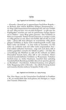 Image of the Page - 413 - in Arthur Schnitzler & Hermann Bahr - Briefwechsel, Aufzeichnungen, Dokumente 1891–1931