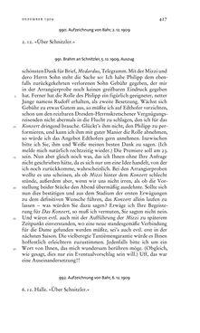 Bild der Seite - 427 - in Arthur Schnitzler & Hermann Bahr - Briefwechsel, Aufzeichnungen, Dokumente 1891–1931