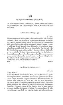 Image of the Page - 497 - in Arthur Schnitzler & Hermann Bahr - Briefwechsel, Aufzeichnungen, Dokumente 1891–1931