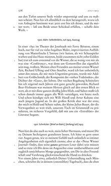 Image of the Page - 576 - in Arthur Schnitzler & Hermann Bahr - Briefwechsel, Aufzeichnungen, Dokumente 1891–1931