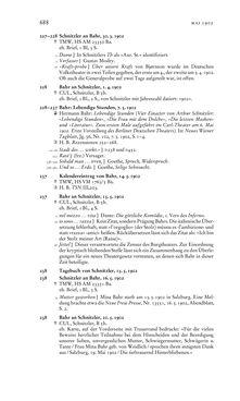 Bild der Seite - 688 - in Arthur Schnitzler & Hermann Bahr - Briefwechsel, Aufzeichnungen, Dokumente 1891–1931