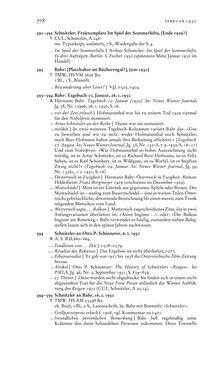 Bild der Seite - 778 - in Arthur Schnitzler & Hermann Bahr - Briefwechsel, Aufzeichnungen, Dokumente 1891–1931