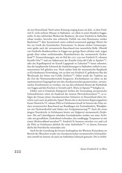 Bild der Seite - 222 - in Die Baukunst des 13. Jahrhunderts in Österreich
