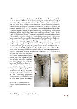 Image of the Page - 229 - in Die Baukunst des 13. Jahrhunderts in Österreich