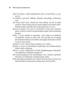Image of the Page - 160 - in Baustelle Elektromobilität - Sozialwissenschaftliche Perspektiven auf die Transformation der (Auto-)Mobilität