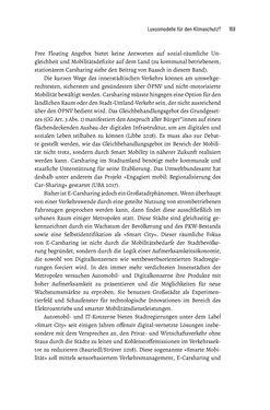 Bild der Seite - 169 - in Baustelle Elektromobilität - Sozialwissenschaftliche Perspektiven auf die Transformation der (Auto-)Mobilität