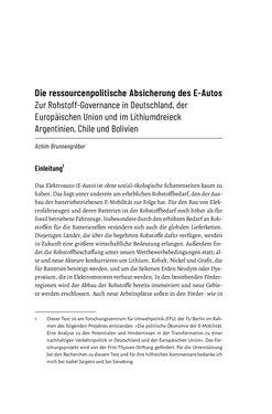 Bild der Seite - 279 - in Baustelle Elektromobilität - Sozialwissenschaftliche Perspektiven auf die Transformation der (Auto-)Mobilität