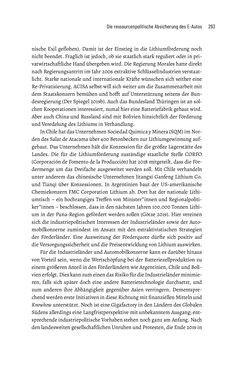 Bild der Seite - 293 - in Baustelle Elektromobilität - Sozialwissenschaftliche Perspektiven auf die Transformation der (Auto-)Mobilität