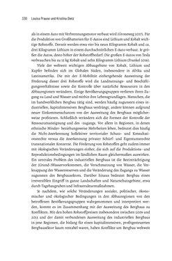 Bild der Seite - 330 - in Baustelle Elektromobilität - Sozialwissenschaftliche Perspektiven auf die Transformation der (Auto-)Mobilität