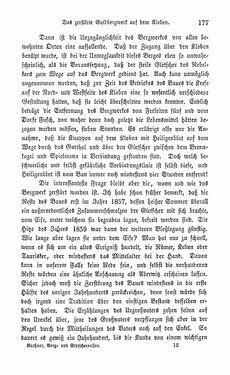 Bild der Seite - 177 - in Berg- und Gletscher-Reisen in den österreichischen Hochalpen