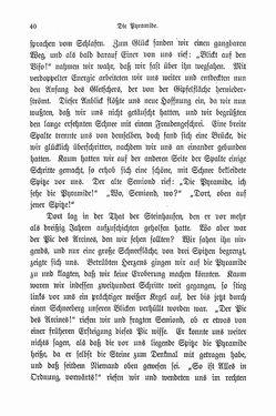 Image of the Page - 40 - in Berg- und Gletscherfahrten in den Alpen in den Jahren 1860 bis 1869