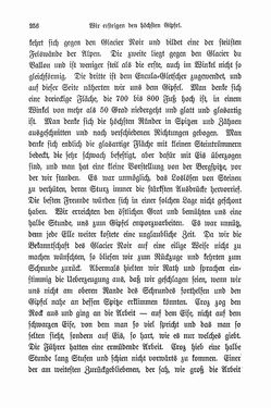 Bild der Seite - 256 - in Berg- und Gletscherfahrten in den Alpen in den Jahren 1860 bis 1869