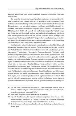 Bild der Seite - 67 - in Bildspuren – Sprachspuren - Postkarten als Quellen zur Mehrsprachigkeit in der späten Habsburger Monarchie