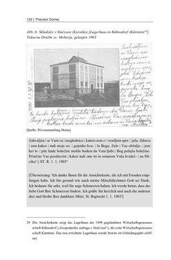 Bild der Seite - 122 - in Bildspuren – Sprachspuren - Postkarten als Quellen zur Mehrsprachigkeit in der späten Habsburger Monarchie